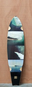 "Globe 38.5"" Empty Waves Longboard Deck"