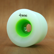 These 70mm 80a Green Hub Wheels