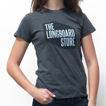 TLS Shop T-Shirt Women's - Charcoal Heather