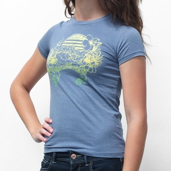 Sector 9 Sunset T-Shirt - Grey