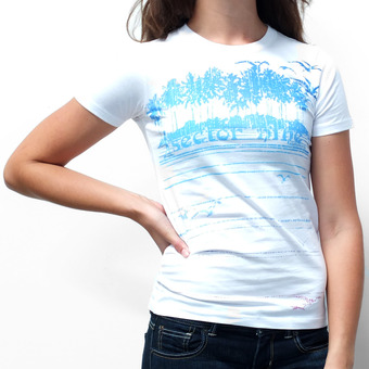 Sector 9 Line Up T-Shirt - White