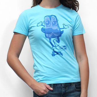 Sector 9 Popsicle T-Shirt - Blue
