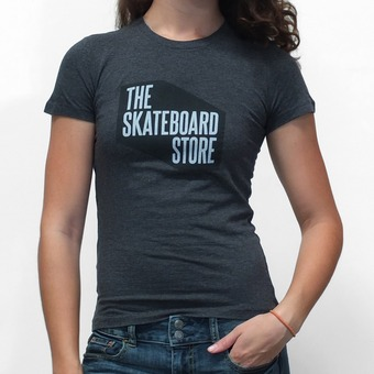 TSS Shop T-Shirt Women's Charcoal Heather