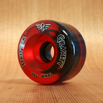 Gravity Drifter 70mm 74a Wheels - Translucent Red
