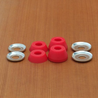 Independent Low Soft 92a Bushings - Red