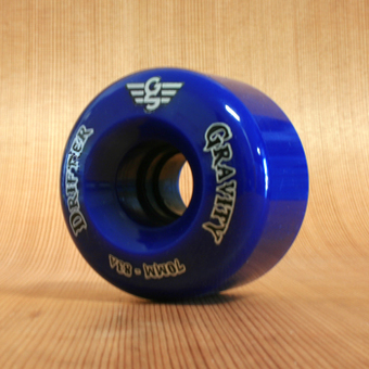 Gravity Drifter 70mm 83a Wheels - Blue