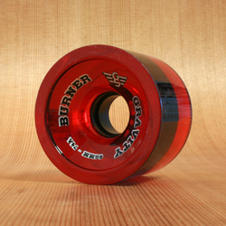 Gravity Burner 66mm 74a Wheels - Translucent Red