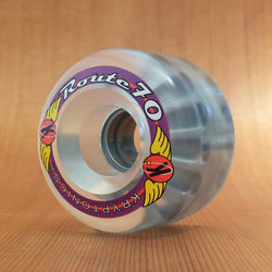 Kryptonics Route 70mm 78a Clear Wheels