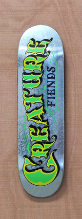 "Creature Mirrorz XS Powerply 7.4"" Skateboard Deck"