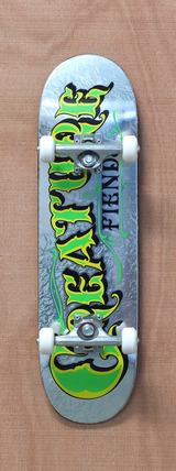 "Creature Mirrorz XS Powerply 7.4"" Skateboard Complete"