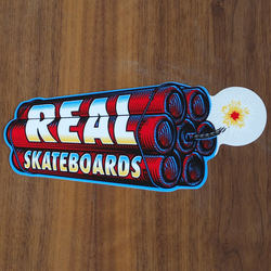 "Real Sticker 8.5"" Dynamite Large"