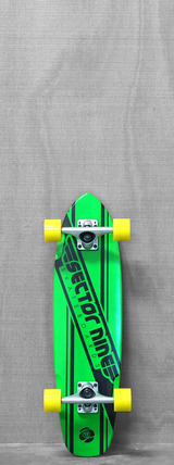 "Sector 9 28"" The 76 Green Longboard"