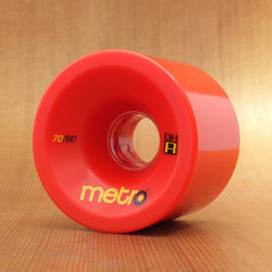 Metro DH-R 70mm 80a Red Wheels