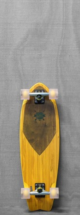 "Globe 30"" Swallow Wedge Wheat Longboard"