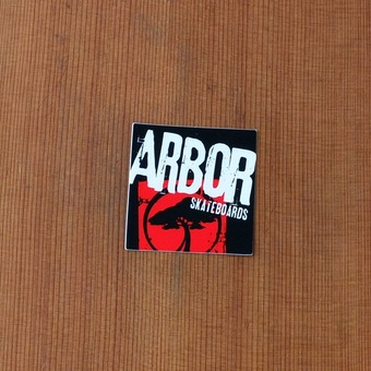Arbor Sticker Red Small