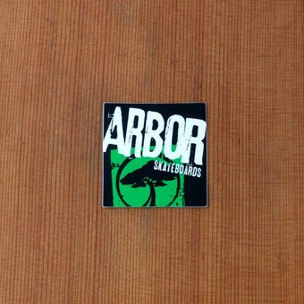 Arbor Sticker Green Small