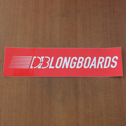 "DB Sticker 8"" Rectangle"