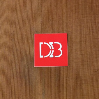 "DB Sticker 2"" Square"