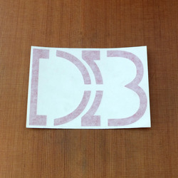 "DB Sticker 5.5"" Die-Cut"