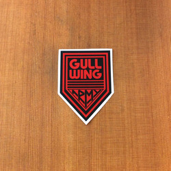 Gullwing Sticker Army Small