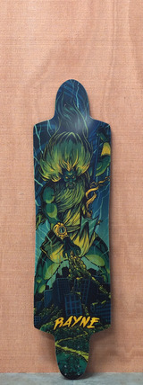 "Rayne 38"" Top-Mount Killswitch Longboard Deck"