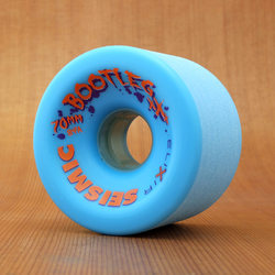 Seismic Bootleg 70mm 84a Wheels - Blue