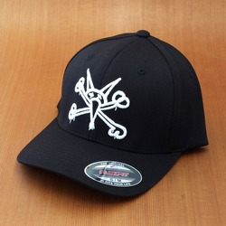 Bones Vato Rat Flex Fit Hat - Black
