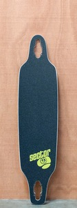 "Sector 9 40"" Fractured Blue Longboard Deck"