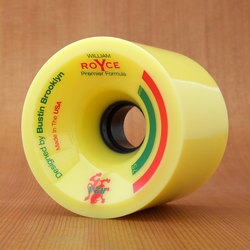 Bustin Royce Premier Formula 75mm 82a Wheels - Yellow