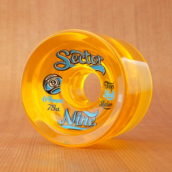 Sector 9 Top Shelf Slalom 69mm 78a Wheels - Yellow