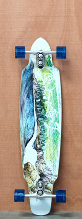 "Sector 9 39"" Northern Lights Longboard Complete - Green"
