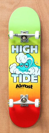 "Almost High Tide 8.5"" Skateboard Complete"