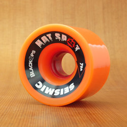 Seismic Hot Spot 66mm 79a Wheels - Orange