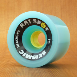 Seismic Hot Spot 76mm 80a Wheels - Blue