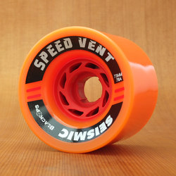 Seismic Speed Vent 73mm 76a Wheels - Orange