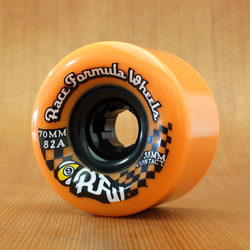 Sector 9 Race Formula 70mm 82a Centerset Wheels - Orange