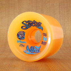 Sector 9 Top Shelf Slalom 69mm 78a Wheels - Orange