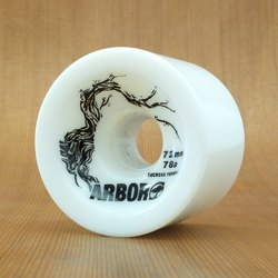 Arbor Freeride 72mm 78a Wheels - White