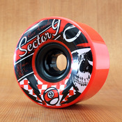 Sector 9 81mm 82a Race Formula Red Wheels