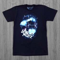 Landyachtz Space Cat Black T-Shirt