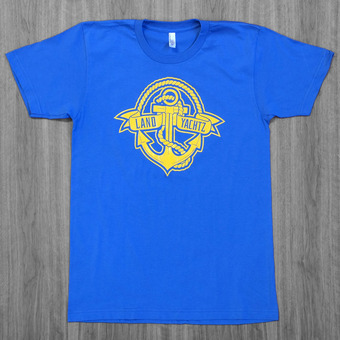 Landyachtz Anchor Blue T-Shirt