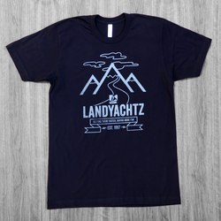 Landyachtz Mountain Black T-Shirt