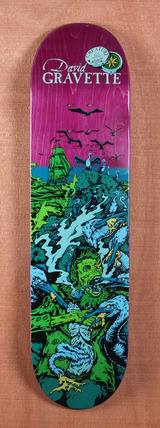 "Creature Gravette Cove Powerply 8.2"" Skateboard Deck"