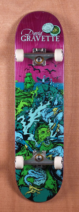 "Creature Gravette Cove Powerply 8.2"" Skateboard Complete"