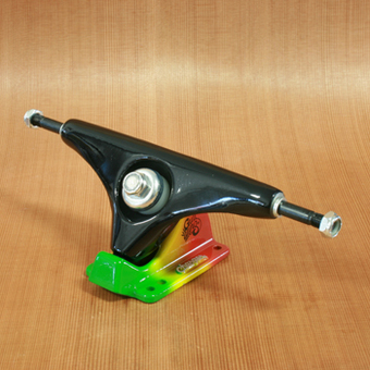 "Gullwing Charger 9"" Trucks - Black/Rasta"