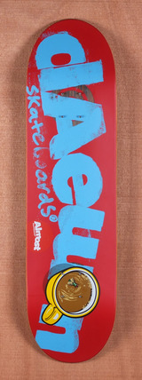 "Almost Daewon Logo Cuts 8.38"" Skateboard Deck"