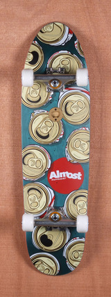"Almost Can Crusher Cruiser 8.25"" Skateboard Complete"