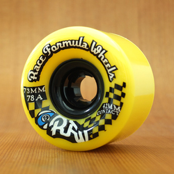 Sector 9 Race Formula 73mm 78a Wheels - Yellow