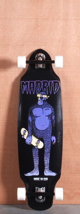 "Madrid 37"" Bigfoot Longboard Complete"