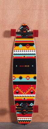 "Madrid 38.75"" Africa Longboard Complete"